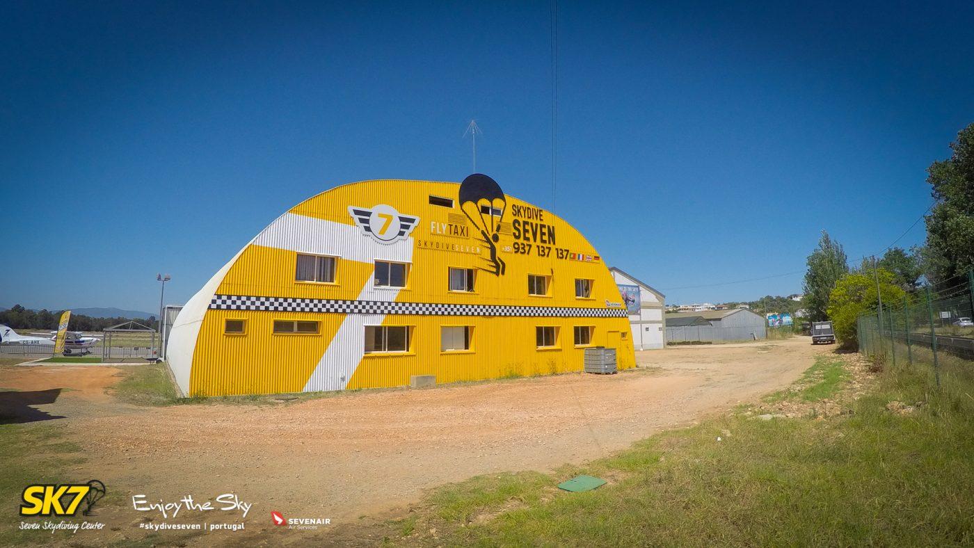 Skydive Seven Algarve Portugal